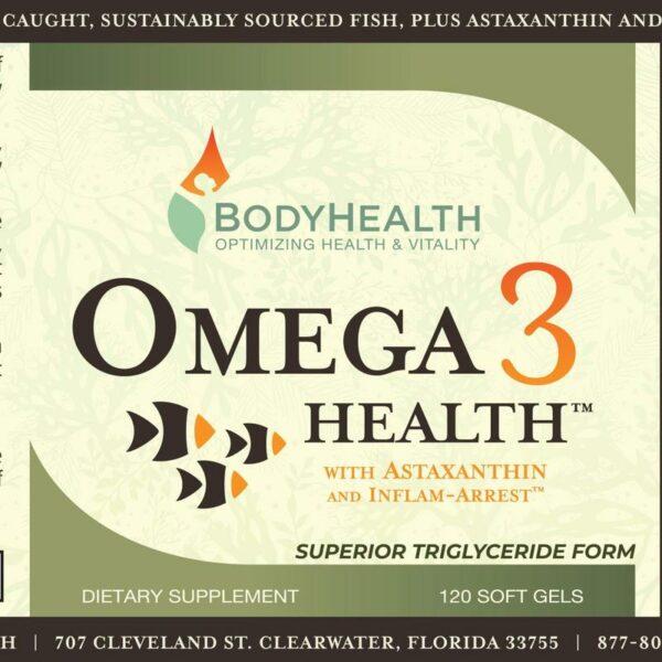 omega-3-health-fish-oil-fatty-acids-label - Alma Supplements 1