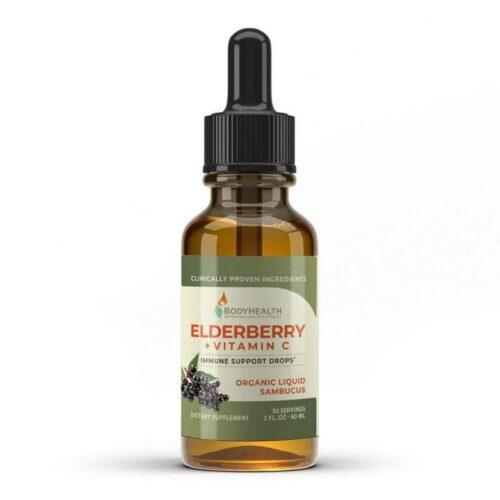 Alma Supplements - Elderberry Vitamin C Drops
