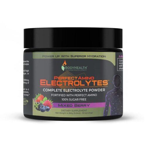 Alma Supplements - Perfect Amino Electrolytes – Mixed Berry