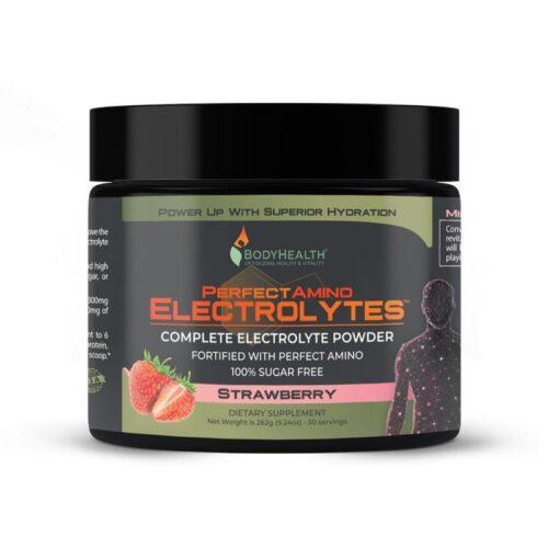 Alma Supplements - Perfect Amino Electrolytes - Strawberry